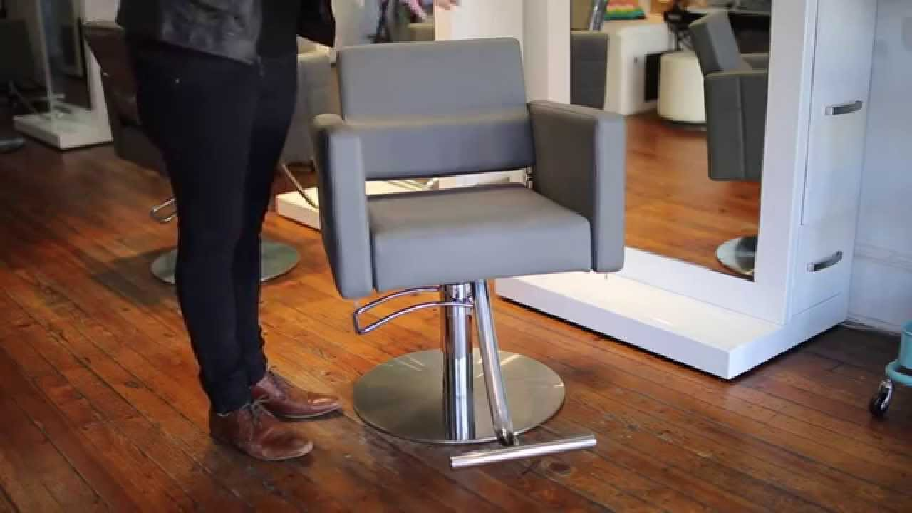 Charmant Evora Ll Salon Chair Review | FreeSalonEducation.com   YouTube