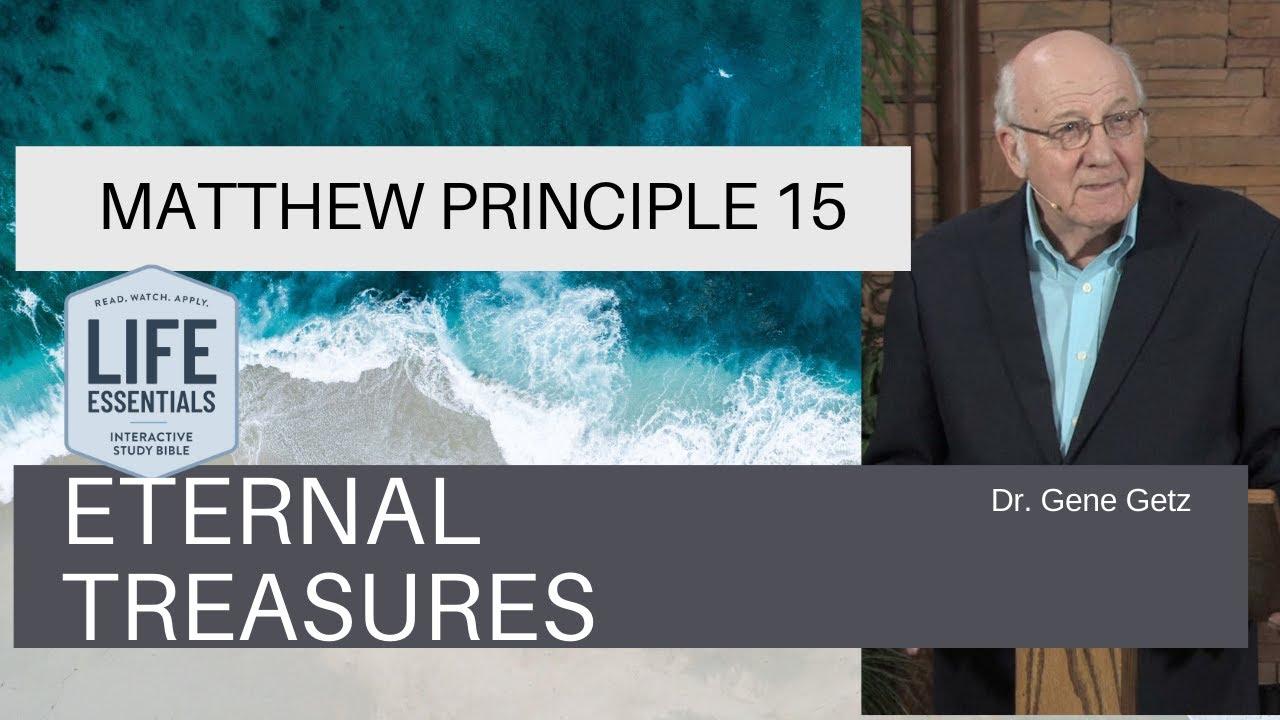Download Matthew Principle 15: Eternal Treasures