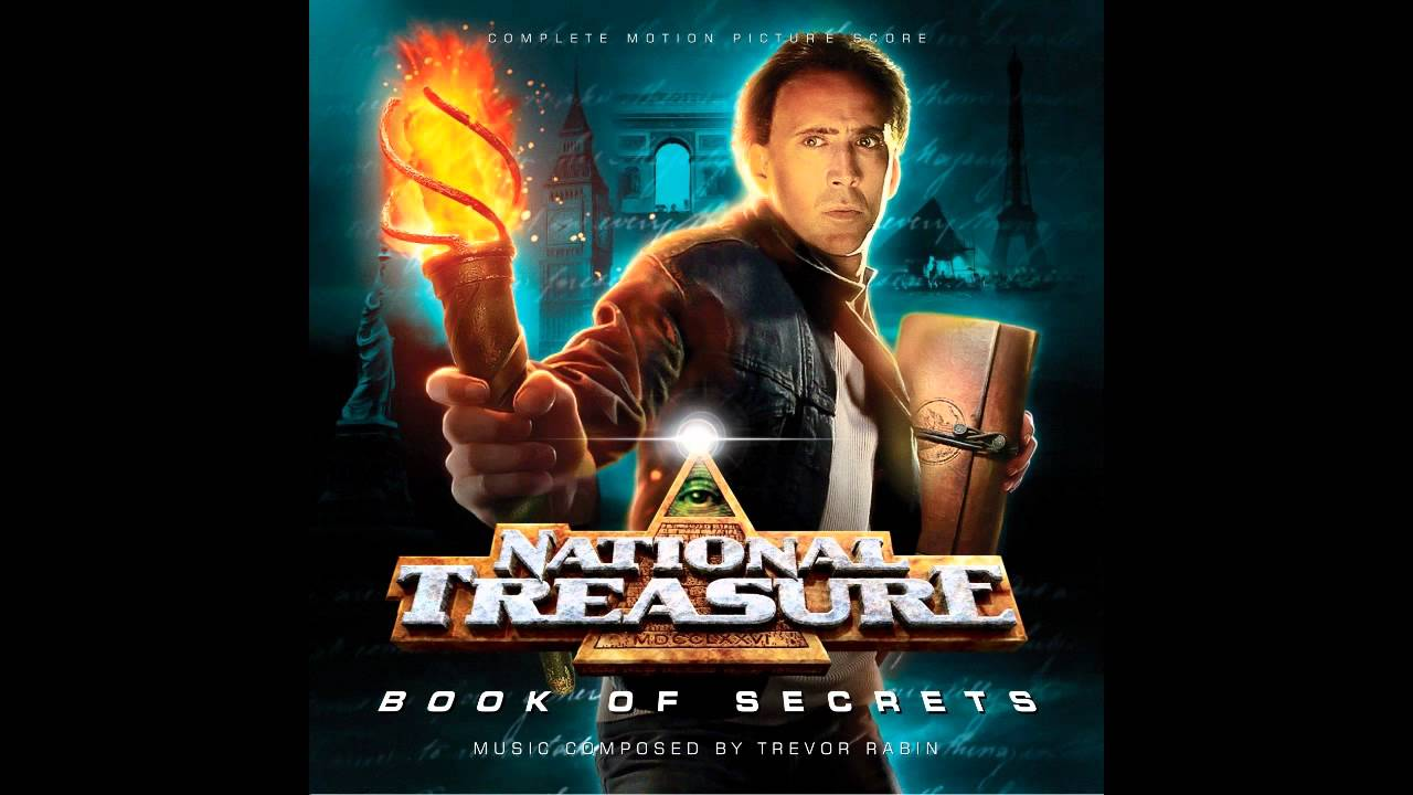 National treasure boob of secerets