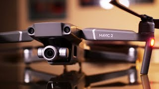 DJI Mavic 2 Zoom Review - 4x Zoom with a DRONE - Flight Footage