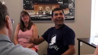 Pastor helping deaf refugees communicate