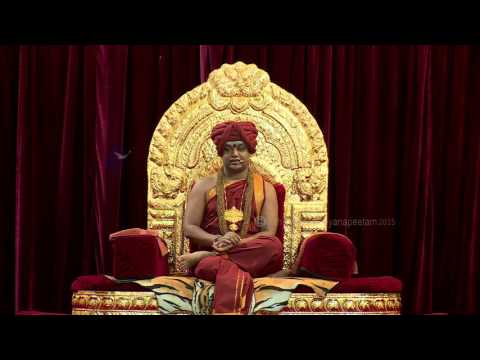 Paramahamsa Nithyananda Offers Respects to ParamPujya Dayananda Saraswati Swamiji on his Mahasamadhi
