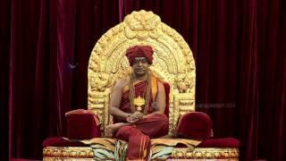 Paramahamsa Nithyananda Offers Respects to ParamPujya Dayananda Saraswati Swamiji on his Mahasamadhi