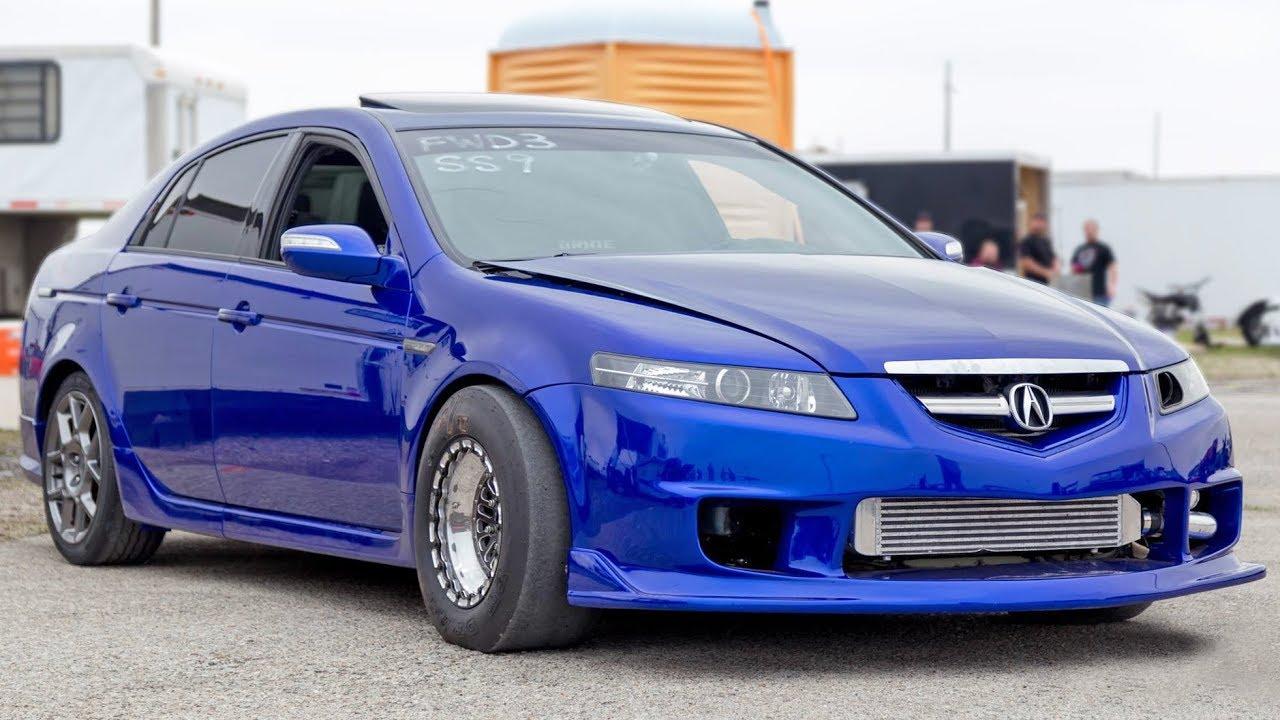 Heads Up No Prep – Turbo Acura TL   DragTimes com Drag