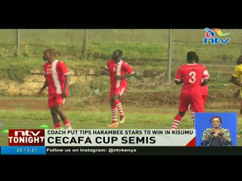 Harambee Stars to tackle Burundi in CECAFA semis