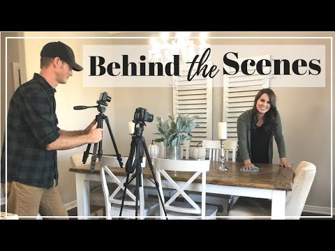 BEHIND THE SCENES OF A CLEANING VIDEO| HOW TO FILM A YOUTUBE VIDEO | LIFE OF A YOUTUBER