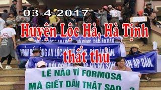 Ủy ban Nhân dân huyện Lộc Hà, Hà Tĩnh thất thủ -  chủ tịch huyện cúi đầu chịu tội