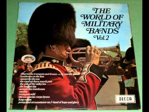 The Longest Day - Band of the Grenadier Guards from The World Of Military Bands Vol.2 LP