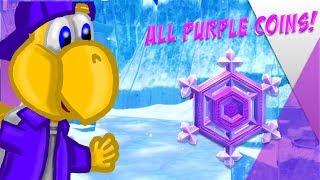 Snow Kingdom Purple Coin Guide ll Super Mario Odyssey: Road To 100%