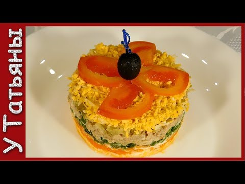 пошаговые рецепты салатов с печенью
