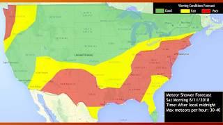 Perseids Meteor Shower 2018- Informational Video