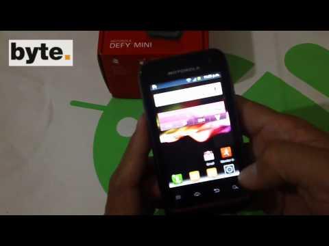 Reseña del Motorola Defy Mini (XT320)