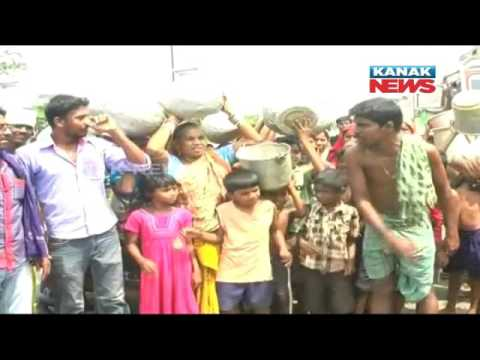 Scarcity of Drinking Water: Protest of Villagers In Jajpur
