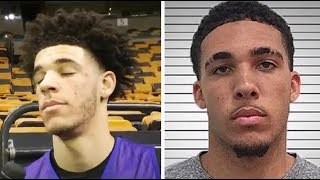 Lonzo Ball Reacts To LiAngelo Ball Being Arrested In China For STEALING