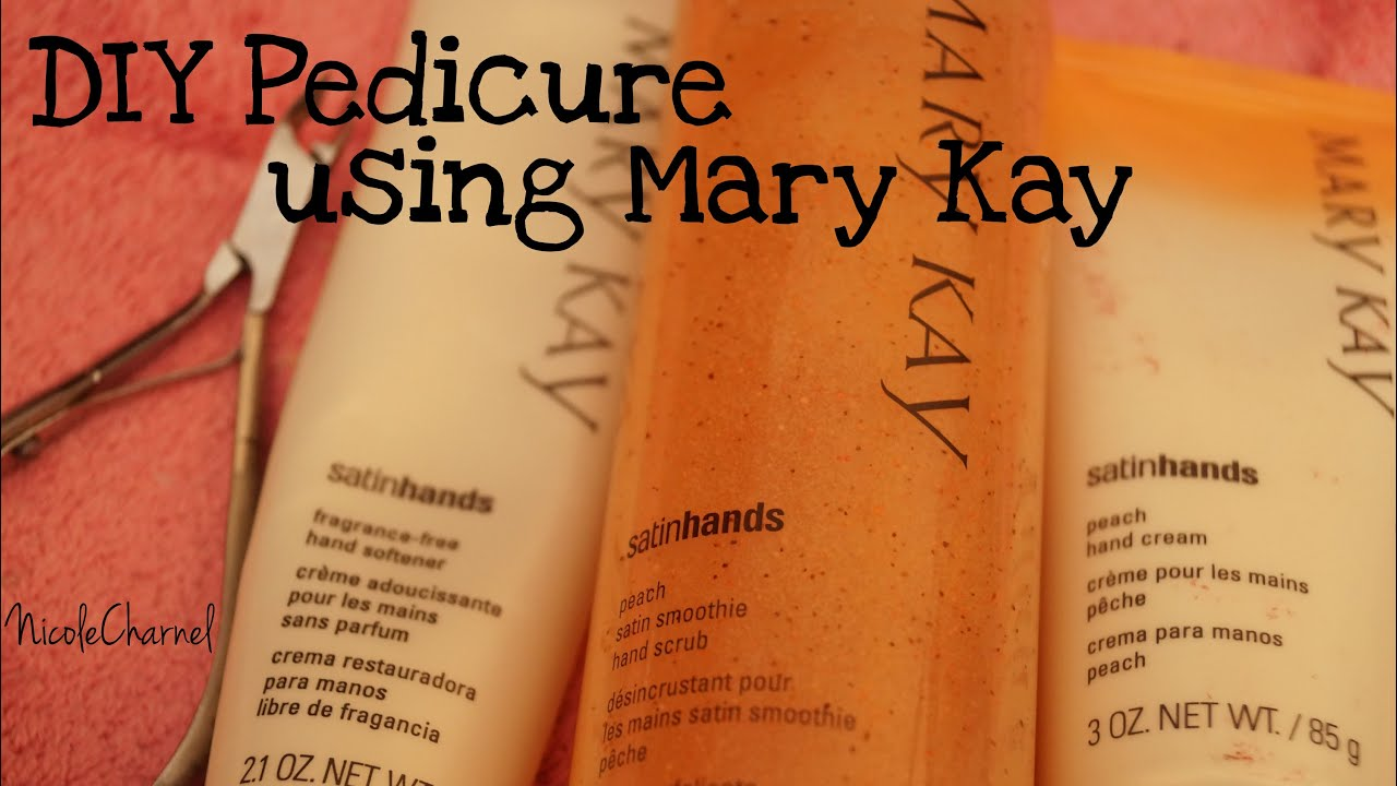 Pedicure With Mary Kayhow To Diy Youtube