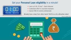 Personal Loan EMI Calculator - Check Eligibility