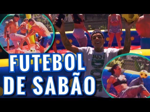 GINCANA: FUTEBOL DE SABÃO COM MC KEVIN, MC BRISOLA, PEPITA, LETICIA ESCARIÃO, VIVI, TULIO ROCHA...