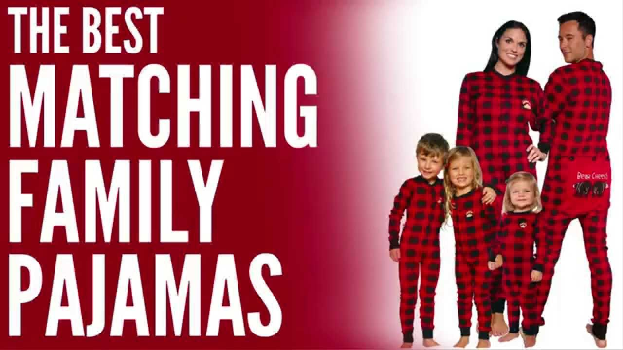 Matching Family Pajamas - Perfect for Family Christmas Pajamas! - YouTube 032854312