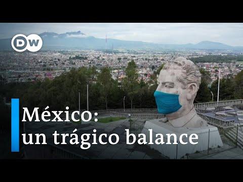 México supera los 35.000 muertos por covid-19