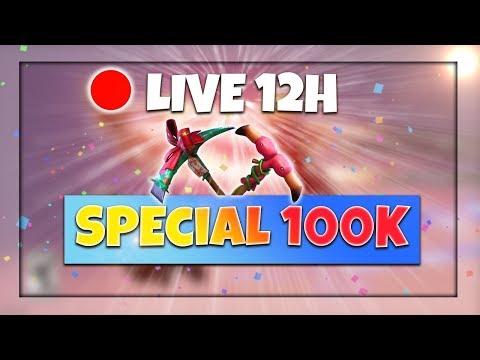 [FR/PC/LIVE] Fortnite  en solo 606 wins / 12h de live pour les 100k! /  Rush lvl 38 / 100 Partie 2