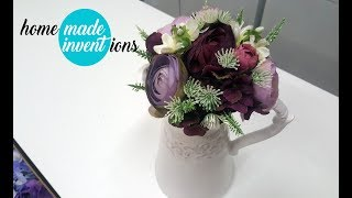 Autumn Crafts: How To Make Beautiful Bouquet