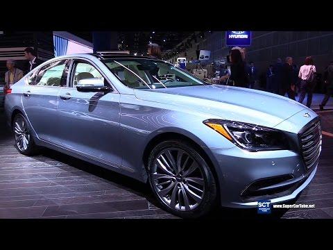 2018 Genesis G80 Luxury Exterior and Interior Walkaround 2016 LA Auto Show