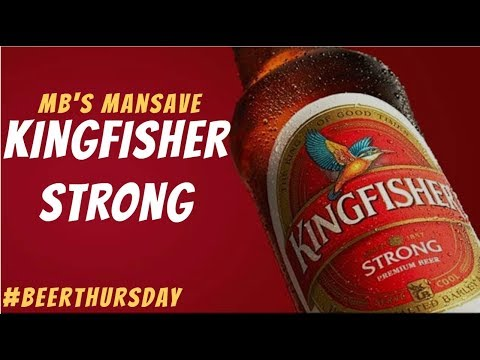 Kingfisher Strong Review In Hindi | #BeerThursday