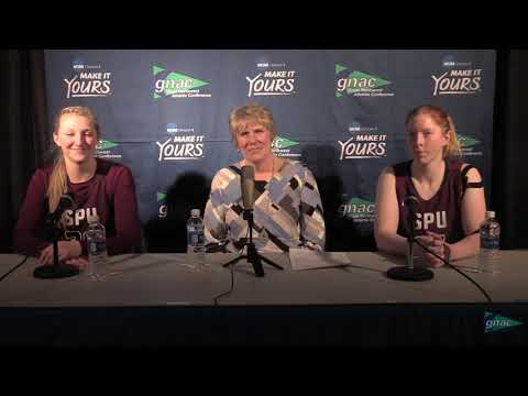 GNAC Basketball Championships - Seattle Pacific Women Postgame, Mar. 2, 2018