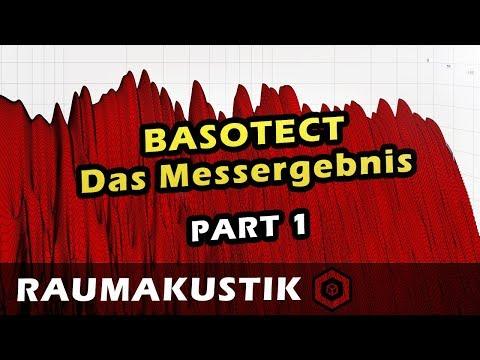 Raumakustik - 10 - BASOTECT Absorber | Auswertung der Messung 1