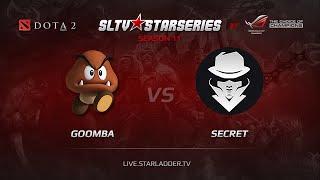 Goomba vs Secret, SLTV Europe Season 11, Day 9