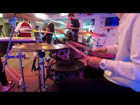 Matteo feat. Ruby - Drama - Live Drum Cam