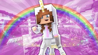 BABY ELLIE TURNS INTO A UNICORN?! Minecraft Little Kelly The Kelly ...