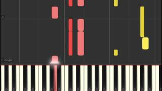 Sing Street soundtrack - Up (Piano sheet & Synthesia)