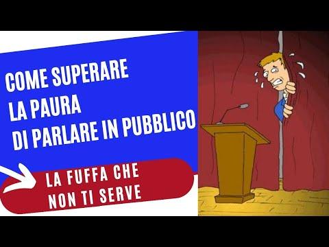 Immagine per Come superare la paura di parlare in pubblico. Il Metodo Public Speaking Top