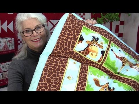 DIY Big Floor Pillow or Sleep Mat