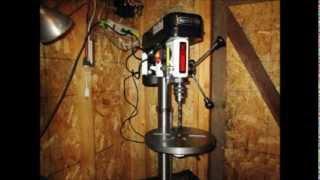 Shop Fox  W1668 13 In  Bench Drill Press