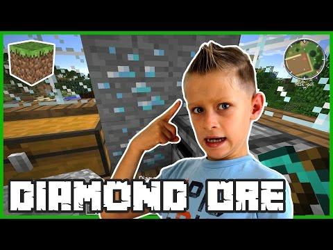 Diamond Ore in my Room / Minecraft