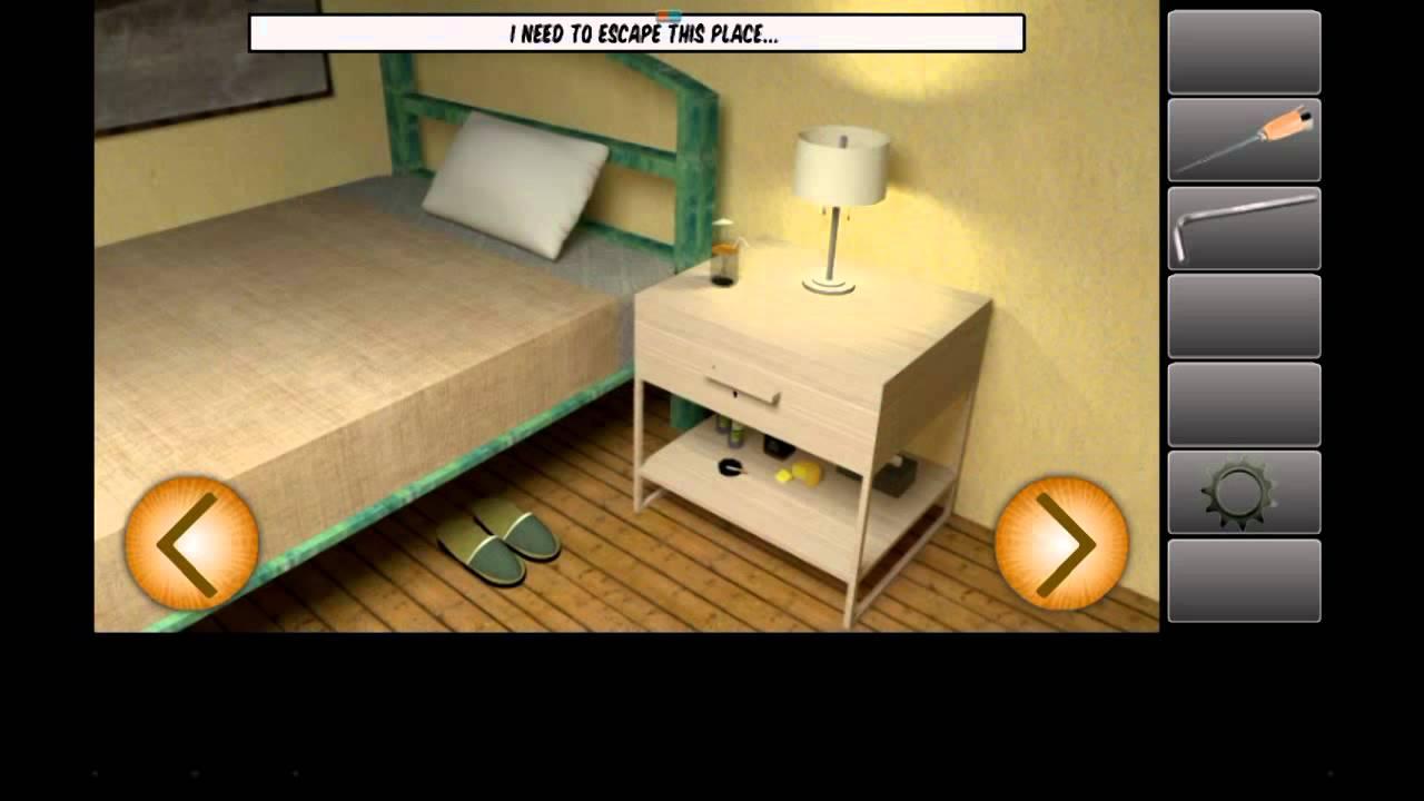 Escape Room Bathroom Level 1 escape the bedroom game walkthrough - youtube