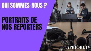 Portraits de reporters   APRIORI TV   Saison 3   Fév 2021