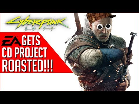 CD Projekt RED Lays The SMACKDOWN on EA - 'We'll leave the GREED to others!'