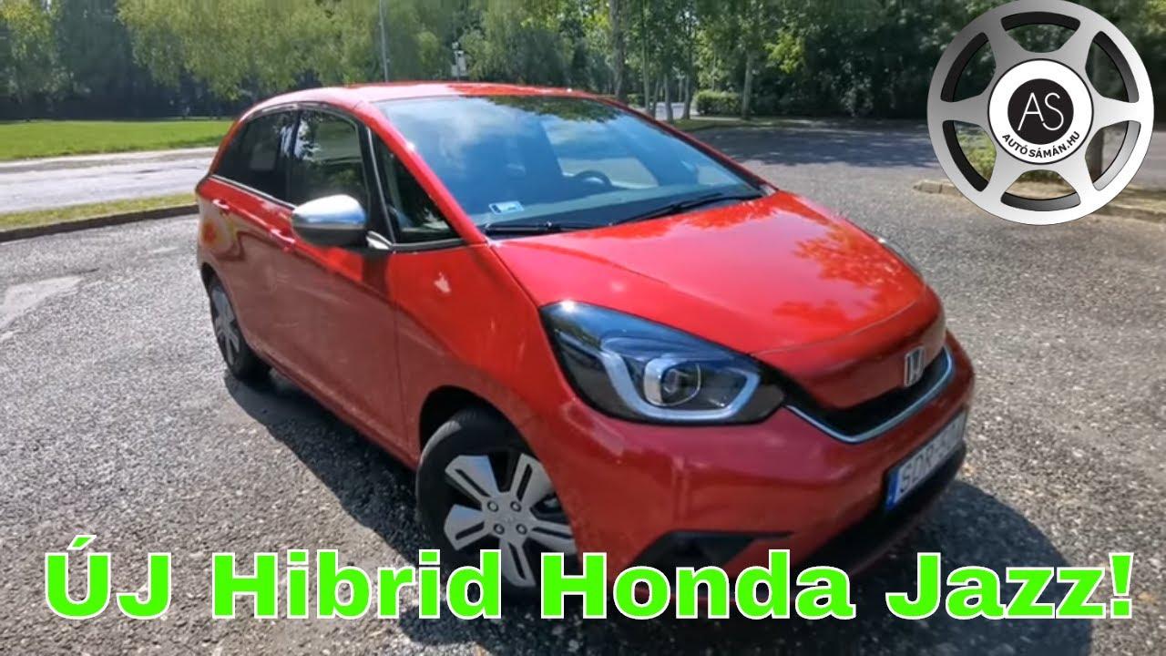 Itt az ÚJ hibrid Honda Jazz! - AutóSámán