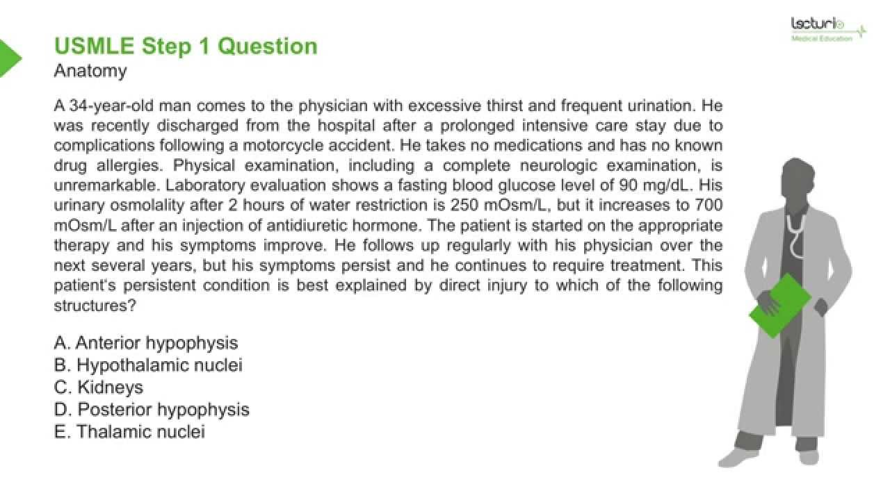 USMLE Step 1 Review Question: Anatomy