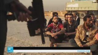 القوات العراقية تطوق قرية البوسيف قرب مطار الموصل