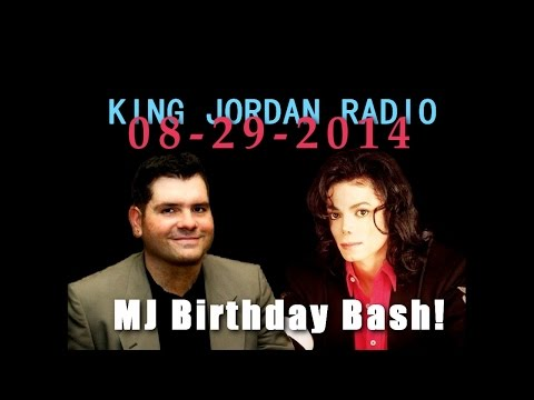 Teaser Michael Jackson Birthday Bash at King Jordan Radio!