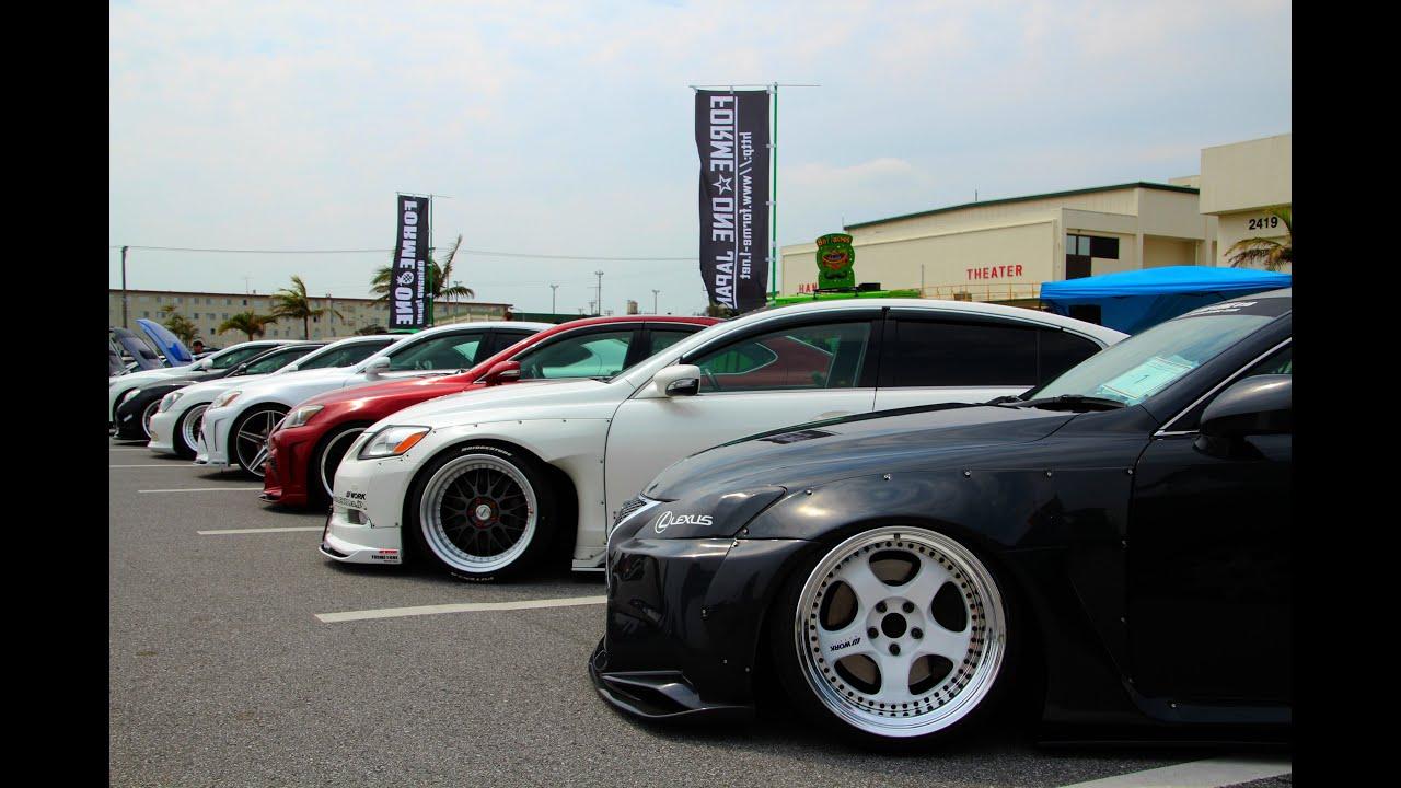 Camp Hansen Car Show Okinawa Japan Youtube