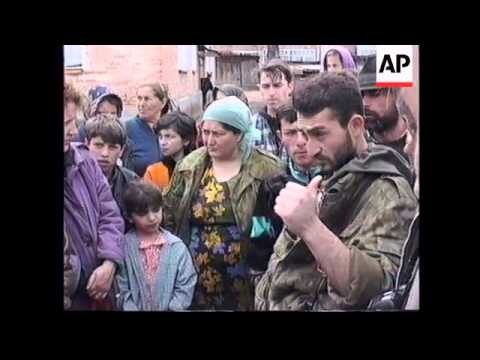 RUSSIA: CHECHNYA: RUSSIAN ARMY TAKE CONTROL OF SHALI