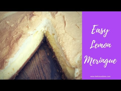 Easy Lemon Meringue Recipe