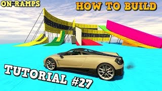 GTA 5 Tutorial #27 - PROPER ON RAMPS - How to build - CUNNING STUNTS ( GTA V Content Creator )