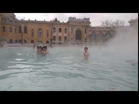TIMELAPSE: Széchenyi Baths, Budapest, Hungary