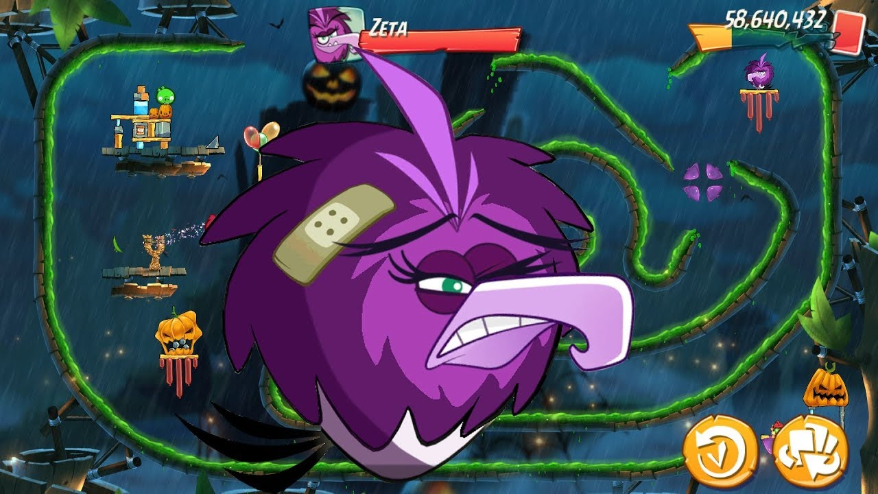 Angry Birds 2 BOSS ZETA (King Pig Panic) Gameplay Walkthrough Part 678